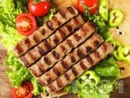 Класическа рецепта за кебапчета на скара